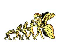 Эволюция к репке/evolution to the turnip
