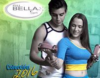 Catalogo Digital para ventas, marca PiuBella Sport