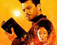 'Preacher' poster illustration