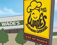ADVERTISING CAMPAIGN: Wade's Family Restaurant