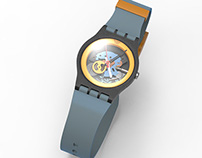 Swatch GHOST SUOK-111 3D Model