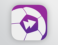 Updated Live Scores iOS 7 app icon