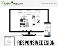 Select Style, Ecommerce Web Site
