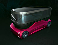 Jaguar electric bus