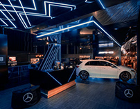 Mercedes- Benz- Display 2020