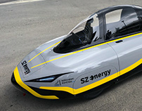 SZEnergy race car paint design