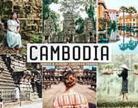 Free Cambodia Mobile & Desktop Lightroom Presets