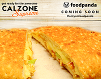 NYP Calzone Supreme Launch on foodpanda