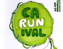 Poster concepts for a running event :: Macmillan