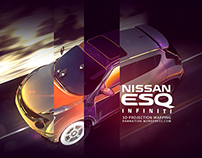 3D Projection Mapping - Nissan ESQ