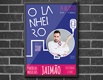 O Lanheiro Café-Bar /Jaimão // Poster