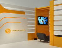 Thomson Reuters Booth Design