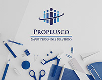 Brochures for the work agency PROPLUSCO