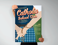 Catholic School Girls Theatre Play Poster