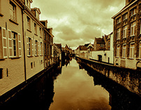THE place to start with: Bruges!