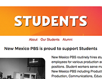 Students Page Templates