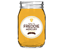 Freddie Mercury Honey