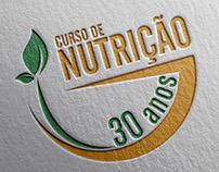 Selo 30 anos Curso de Nutrição UniFil