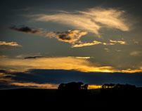 a sky...