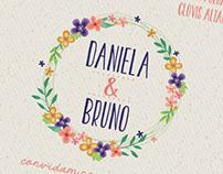 Identidade Visual e Papelaria para Casamento