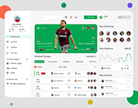 Sports Dashboard UI