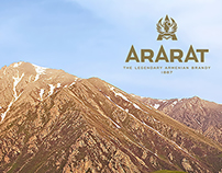 Booklet for the brand Ararat and restaurant  Gayanes