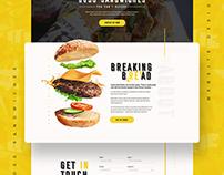 Joey Zaza's Boss Sandwiches | Website Design Project