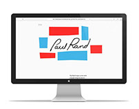 Paul Rand Website