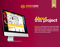 SportLord - Website