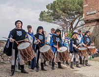 San Cipriano in festa - tamburi