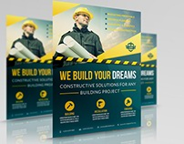 Construction Business Flyer Vol.4