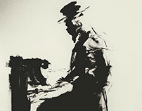 B&W Paint 5 - Piano players