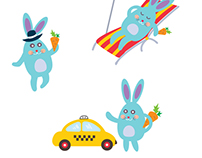 Chat bot character - funny Bunny