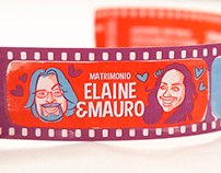 WEDDING INVITATIONS / ELAINE & MAURO