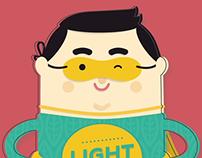 Light2CAT animation