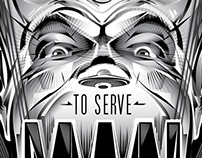 TWILIGHT ZONE - TO SERVE MAN OFFICIAL PRINT