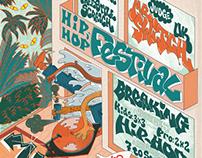 Poster for Hip Hop festival
