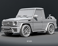 Mercedes Benz G65 AMG Pickup