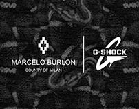 MARCELO BURLON X CASIO G-SHOCK | Co-Branding Ad Concept