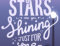 City of Stars - La la land fan art poster