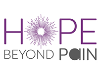 """Hope Beyond Pain"" Logo"