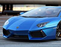 Lamborghini CAR CGI