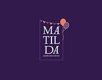 Branding for Matilda, Party Planners