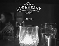 The Speakeasy - menu