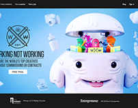 HOMEPAGE HERO: Working Not Working