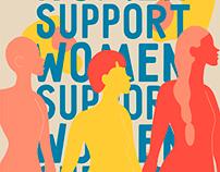 Women support women identity