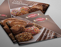 Biscuit / Cake Photographie & Brochure Design