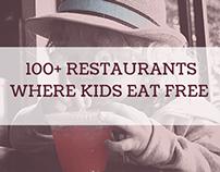 Restaurants Where Kids Eat Free Today