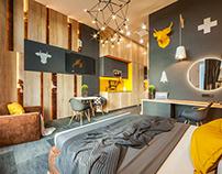 GENEVA. FUNCTION: HOTEL APARTAMENTS