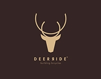 """""""DeerRide"""" Bicycles and Parts Shop – Visual Identity"""